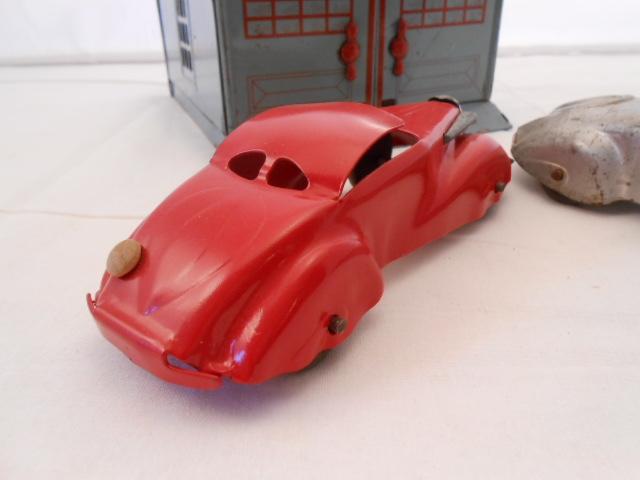 Toys For The Honeymoon : Marx honeymoon garage and cars